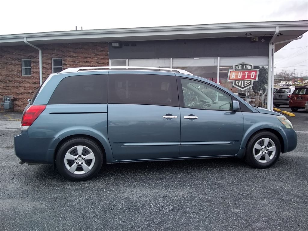 The 2008 Nissan Quest 3.5 photos