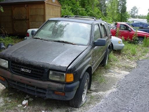 The 1996 Isuzu Rodeo LS photos