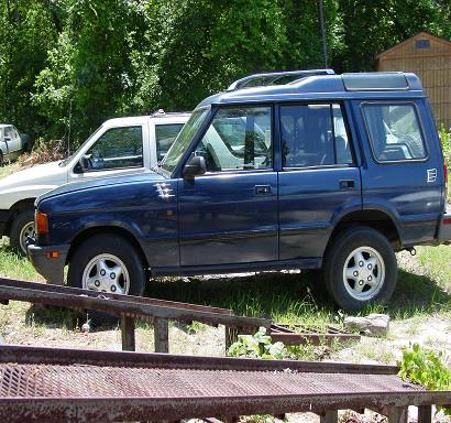 The 1997 Land Rover Discovery LSE