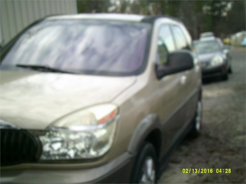 The 2005 Buick Rendezvous CX photos