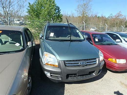 2005 Kia Sportage LX photo