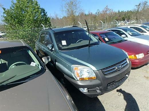 The 2005 Kia Sportage LX