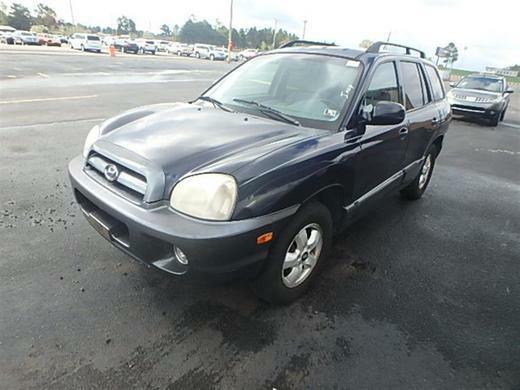 The 2005 Hyundai Santa Fe GLS photos