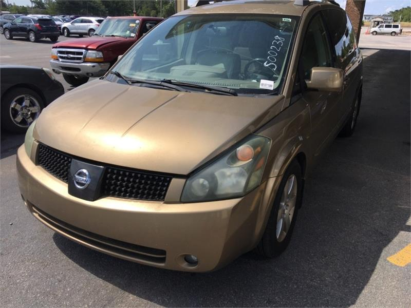 The 2004 Nissan Quest 3.5 S