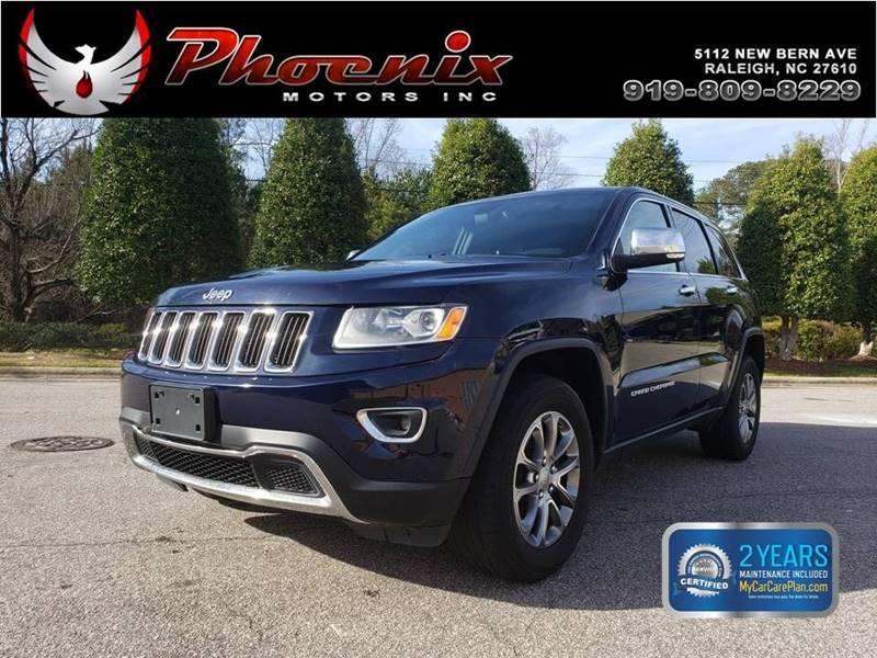 The 2014 Jeep Grand Cherokee Limited photos
