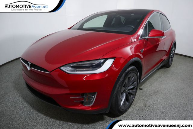 The 2018 Tesla Model X  photos