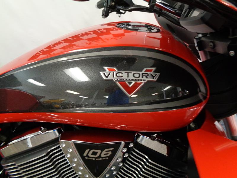 The 2015 Victory Motorcycles® Cross Country Tour® Two-T