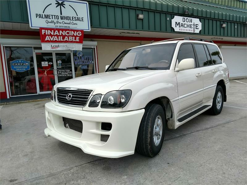 The 1998 Lexus LX 470 photos