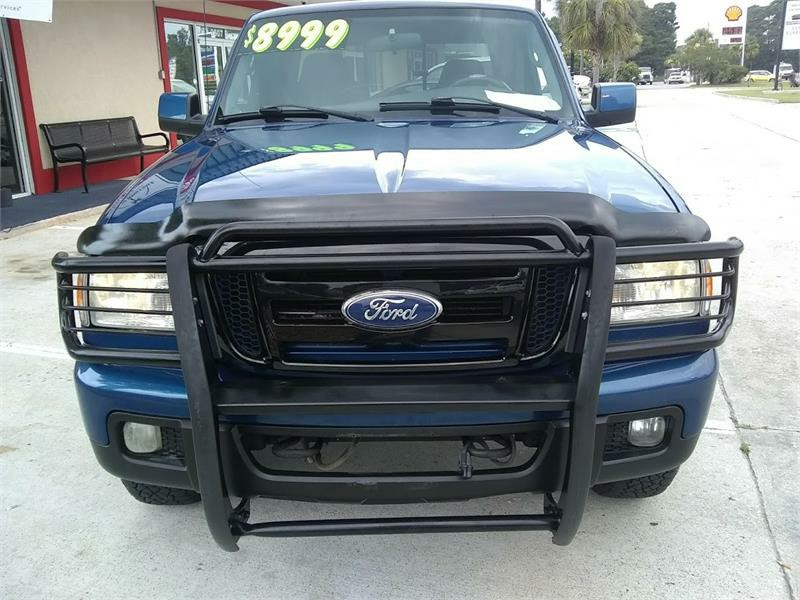 The 2007 Ford Ranger XLT