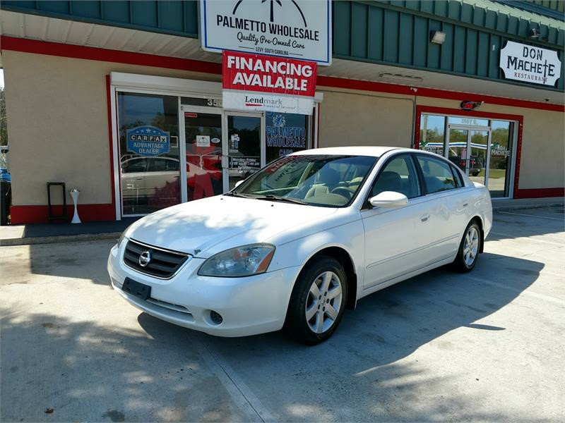 The 2002 Nissan Altima 2.5