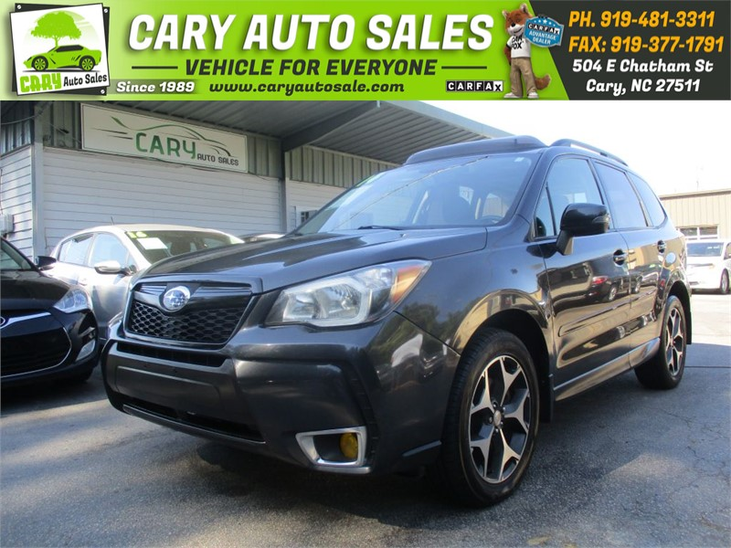 The 2014 Subaru Forester 2.0XT Touring