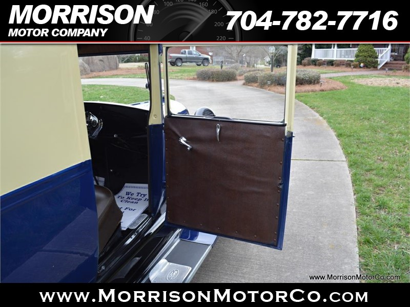 1928 Ford Model A Panel Delivery  photo