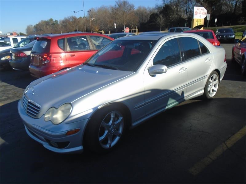 The 2007 Mercedes-Benz C-Class C230