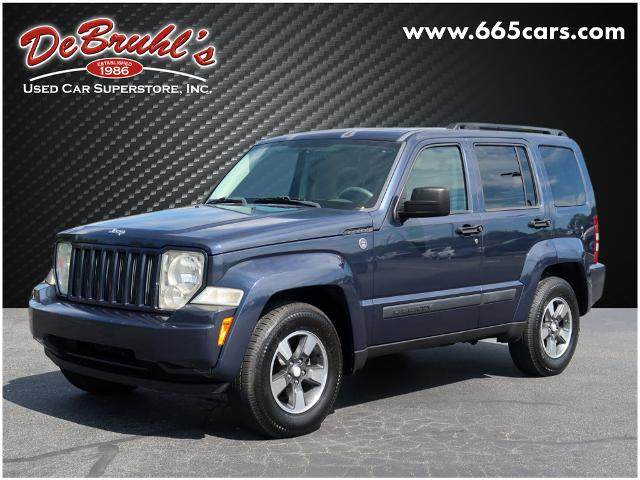 The 2008 Jeep Liberty Sport photos