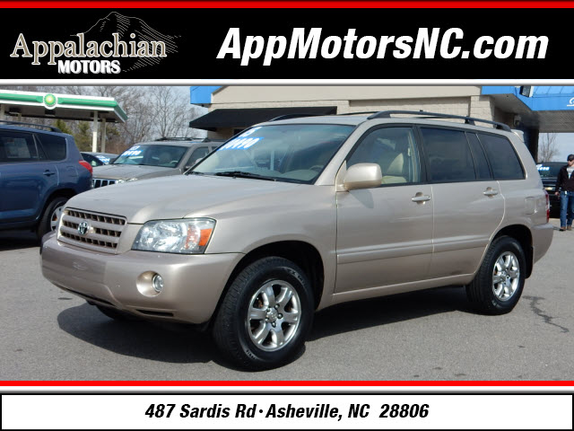 The 2005 Toyota Highlander photos