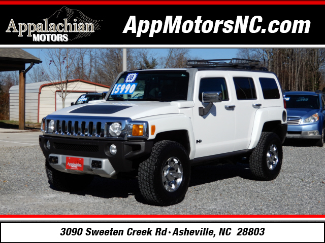 The 2008 HUMMER H3 photos