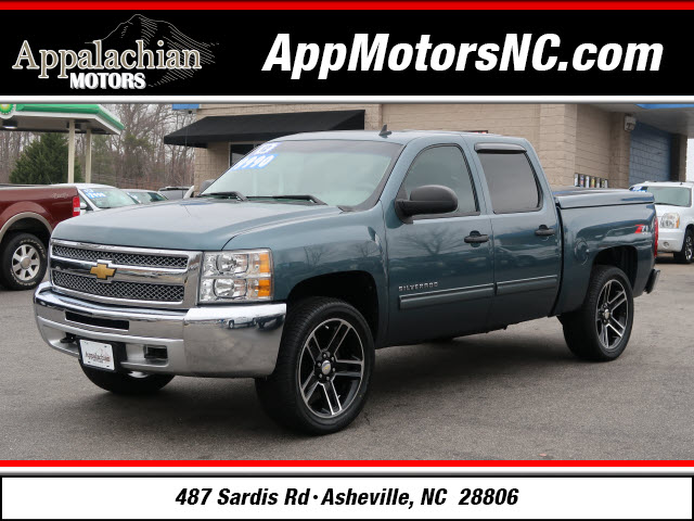 The 2012 Chevrolet Silverado 1500 LT