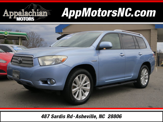The 2008 Toyota Highlander Hybrid Limited photos
