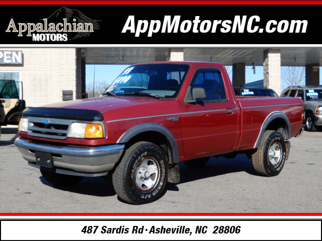 The 1993 Ford Ranger XLT photos