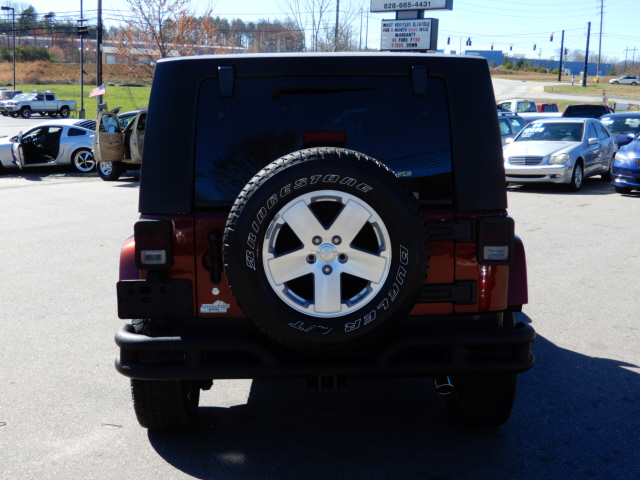 The 2009 Jeep Wrangler Unlimited Sahara
