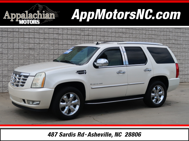 The 2007 Cadillac Escalade photos